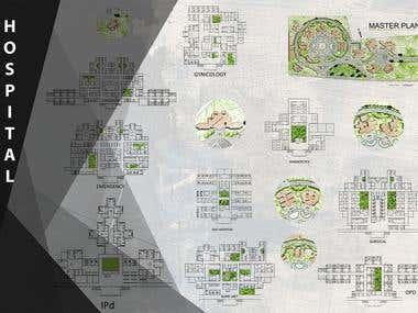 250 Bed Hospital Design