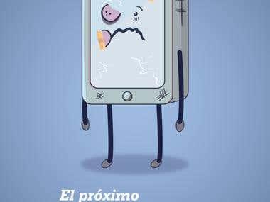 Afiche Publicitario - Acoso