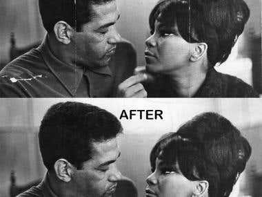 `Photo restoration