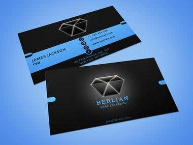 Business card | Double sided | Logo design | Brand identity