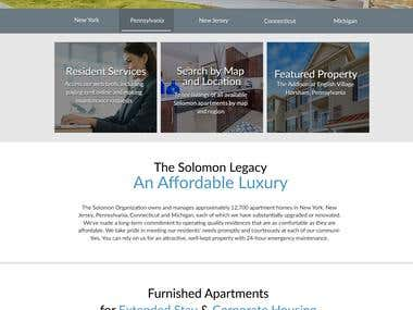 The Solomon Organization Website