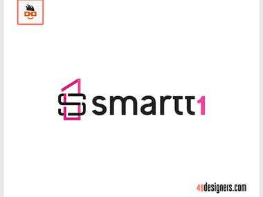 Smartt1 logo design