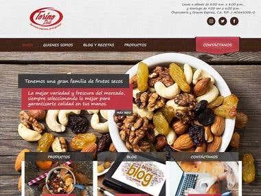 Sitio Web Basado en Wordpress - Torino Deli