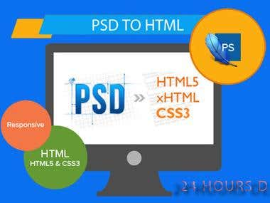 I Will Do Any Psd To Html Converting
