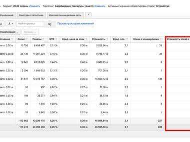 ROI 453% \\ Google Adwords \\ Women's Accessories