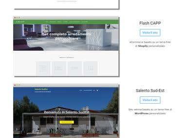 Web Design Portfolio (Blog / Website /Ecommerce)