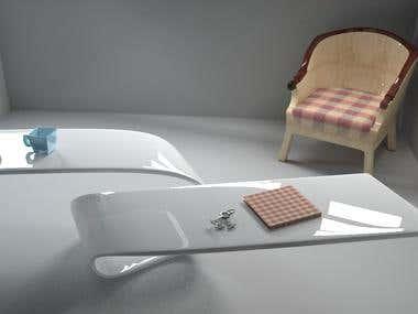 3d model of furniture