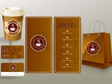 corporate/identity/sets/brown/design/coffee/cup/ Design