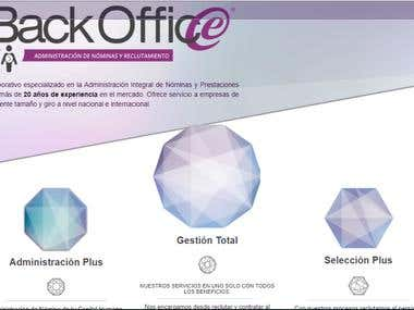 WEB SiTE Back-Office