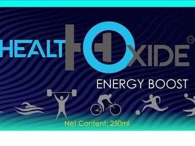 Energy boost label