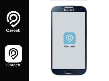 Qareeb - Winning App Logo Freelancer Contest
