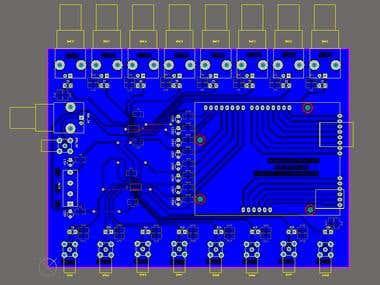 RF multiplexer