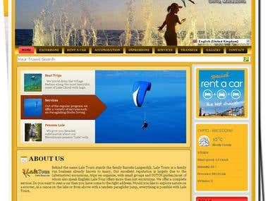 Lale Tours - Travel Agency website