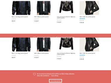 XFINITY WEAR - E-commerce Website
