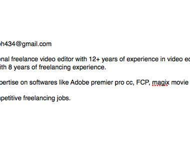12+ years of video editing experience, professional writer