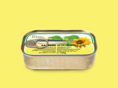 Label Tin Design
