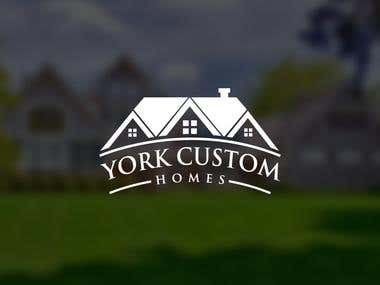 LOGO DESIGN_YORK CUSTOM HOMES