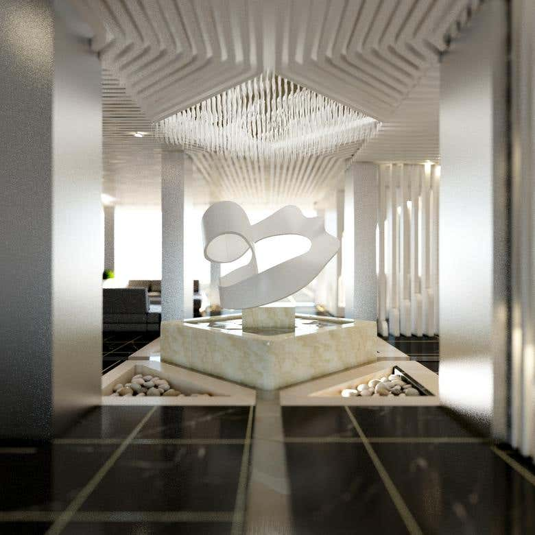 parametric partition and abstract statue design | Freelancer