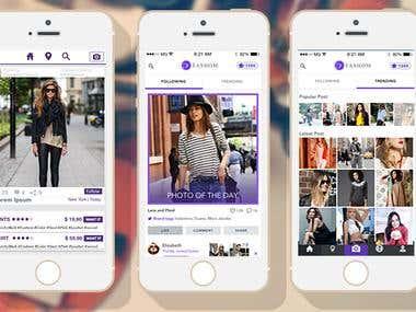 Social Networking App - Fashom