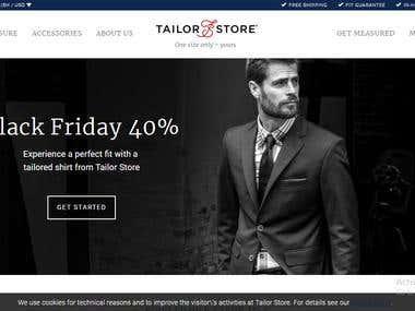 Customize Tailor Shop