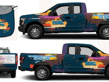 VEHICLE WRAP DESIGN & GRAPHICS