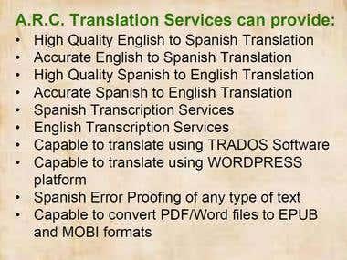 rasecdrm - English-Spanish & Spanish-English Translator