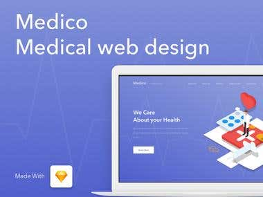 Medical/Doctors/Hospitals web design