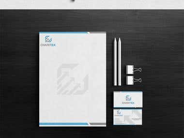 Charitex Logo and Stationary