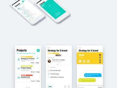 Diseño de interfaz de aplicación