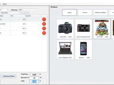 Point Of Sale/Inventory Management System