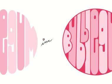 Bubblegum inc. Logo Design