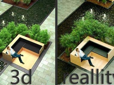 3d vs reality