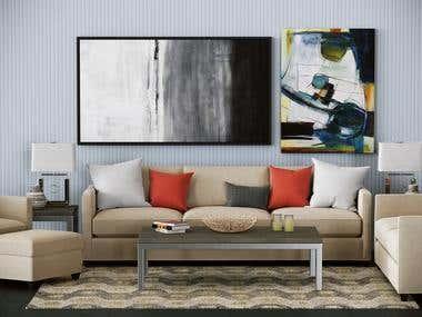 Sofa Renderings