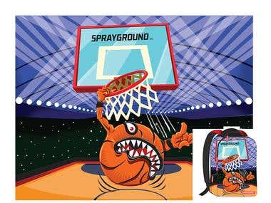 Concept Art for Spryground backpack