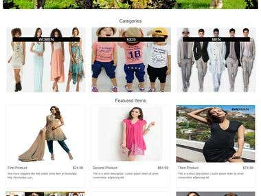 Ebay listing template and Store Design