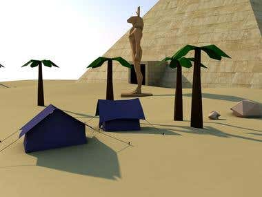 Egyptian game modelling