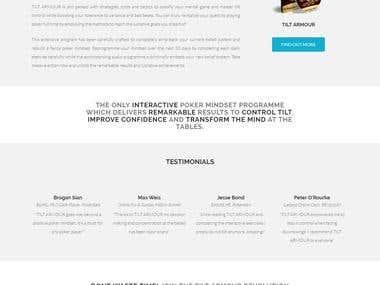 Tilt Armour Website
