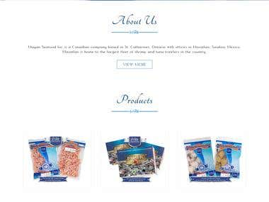 seafood company website