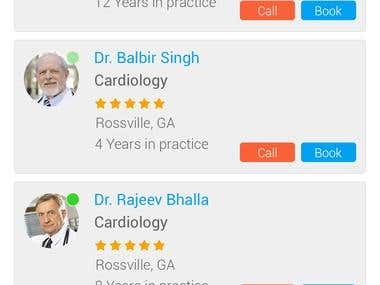 Doctor App Gps Based