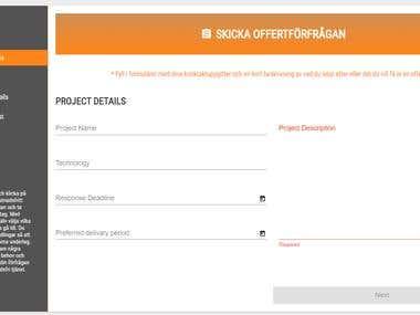 Angular 5 project contest