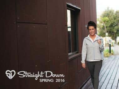 Spring 2016 Straight Down Women's Outerwear