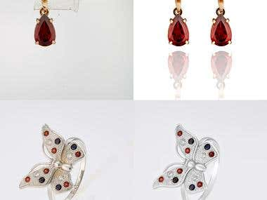 Retouch photos of jewelry