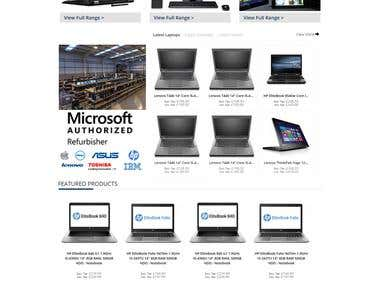 PortableIT (Magento Website)