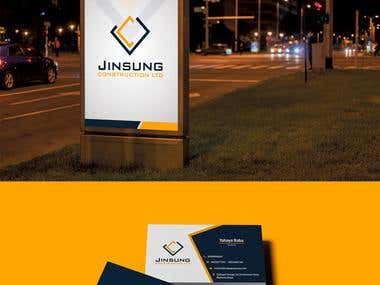 Jinsung Logo and Branding
