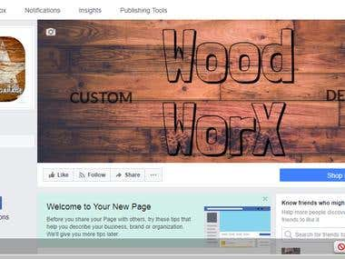 Wood Worx a Facebook Creative page by Melissa Youngblood