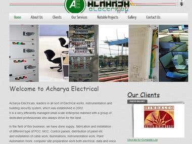 acharyaelectrical.com