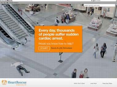 Web Video - Save a life simulator