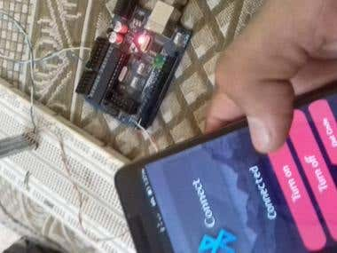 control led or relay by mobile ble and app