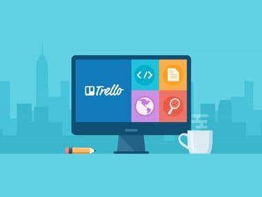 Project Management using Trello