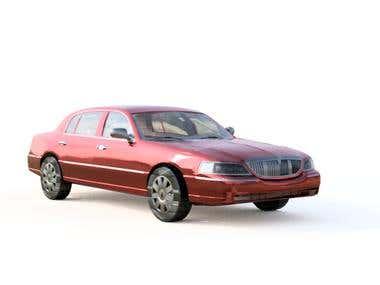 3d model for car